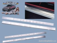 Autostyle nerezové ochranné prahové lišty Hyundai Coupe -- od roku výroby 96- ( 2dílná sada )