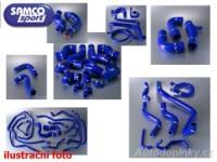 SAMCO Sport kit, silikonové modré sportovní hadice Hyundai Coupe 2.0l ( sada obsahuje 3kusy přesných silikonových hadic pro oběh chladící kapaliny )