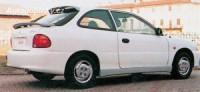 LESTER prahové nástavce Hyundai Accent 3dv. -- do roku výroby -1999
