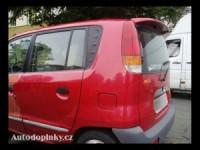 Zadní spoiler kšilt nad okno Hyundai Atos -- od roku výroby 97-