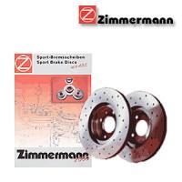 Zimmermann přední sportovní brzdové kotouče -nechlazené HYUNDAI STELLAR  -motor 1.4 -- rok výroby 10.83-08.86